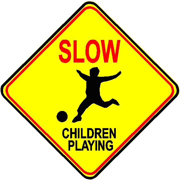 H17212 - Children Playing Traffic Sign