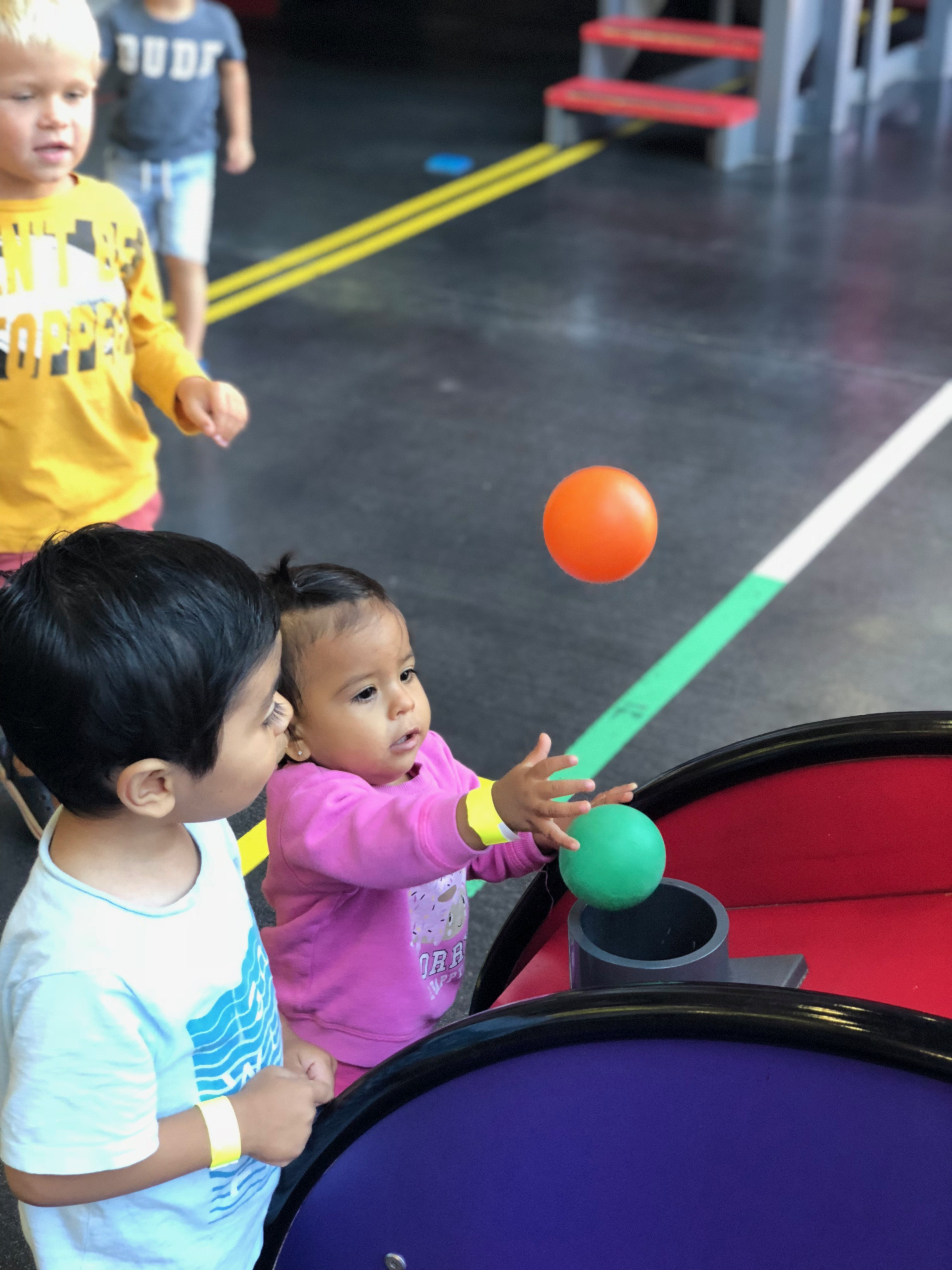 Families take a Day Trip to the Children's Discovery Museum