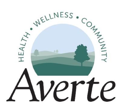 Averte logo Health Wellness Community tagline