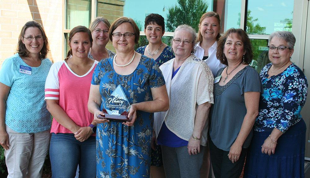 Nancy Jost Receives One-of-a-Kind Award