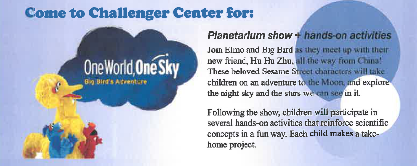 Planetarium Show & Activities