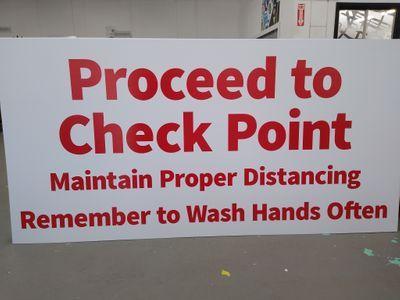 Procedure Sign