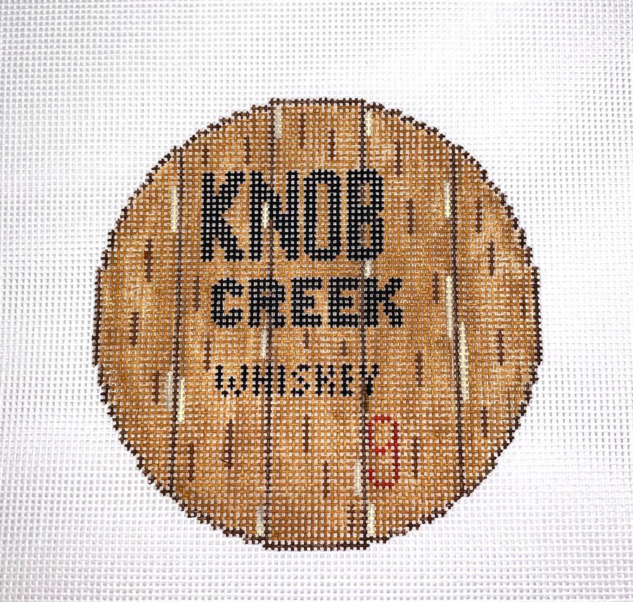 Bourbon Barrel Head - Knob Creek