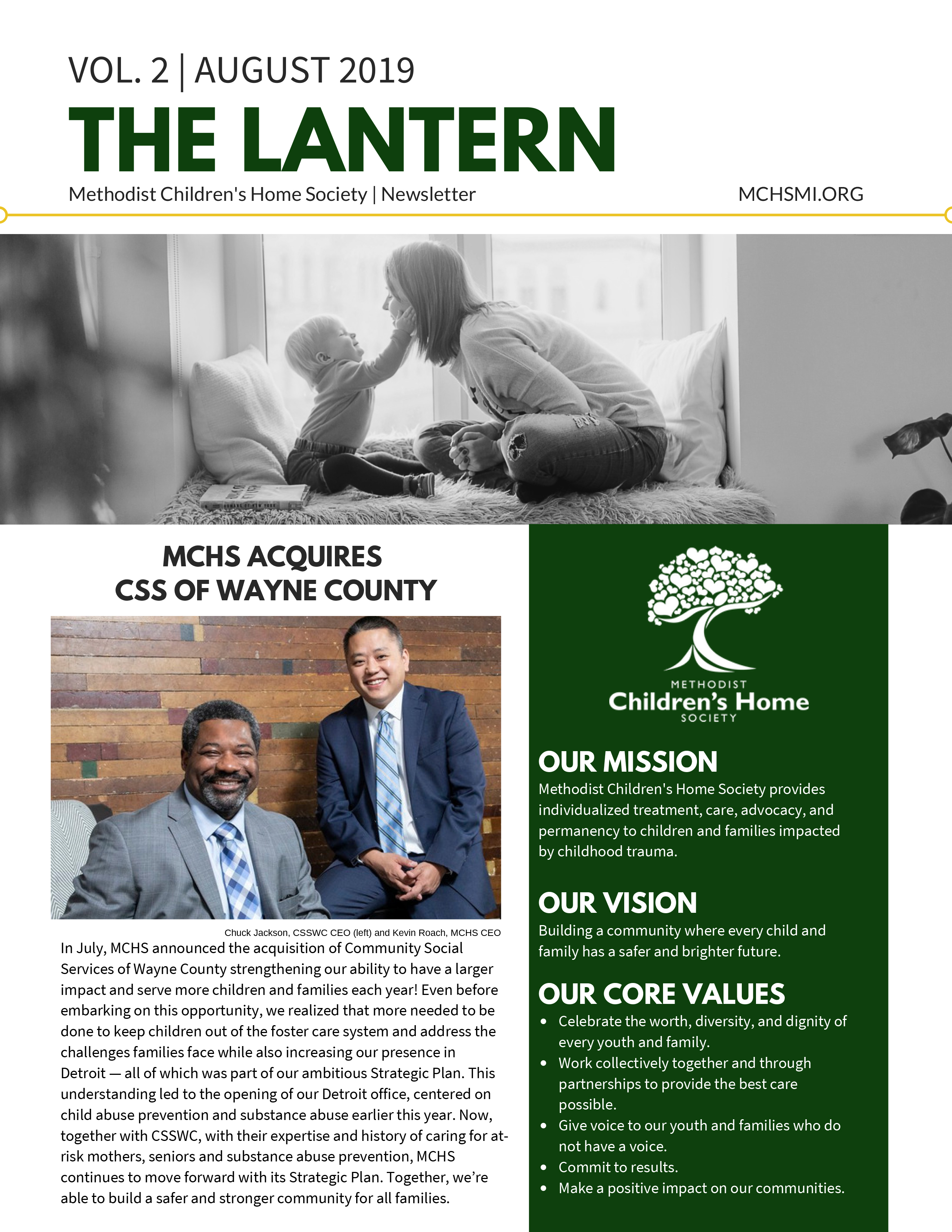 The Lantern - August 2019 Page 1