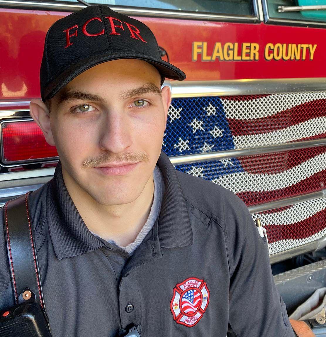 Noah Dunaway, 2019 FPC Fire Leadership Graduate