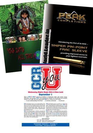 Brochures 11x17 (color)
