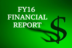 FY16 NCMF Financial Report