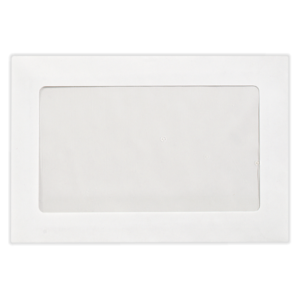 6 x 9 Booklet Full View Window Envelope