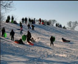 Go Sledding / Snowtubing