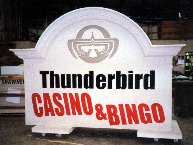 T29006 - Entrance Monument Sign to a Casino