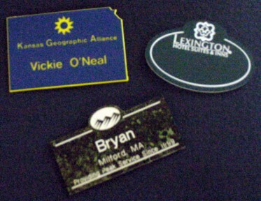 Name Tags - Custom Shapes