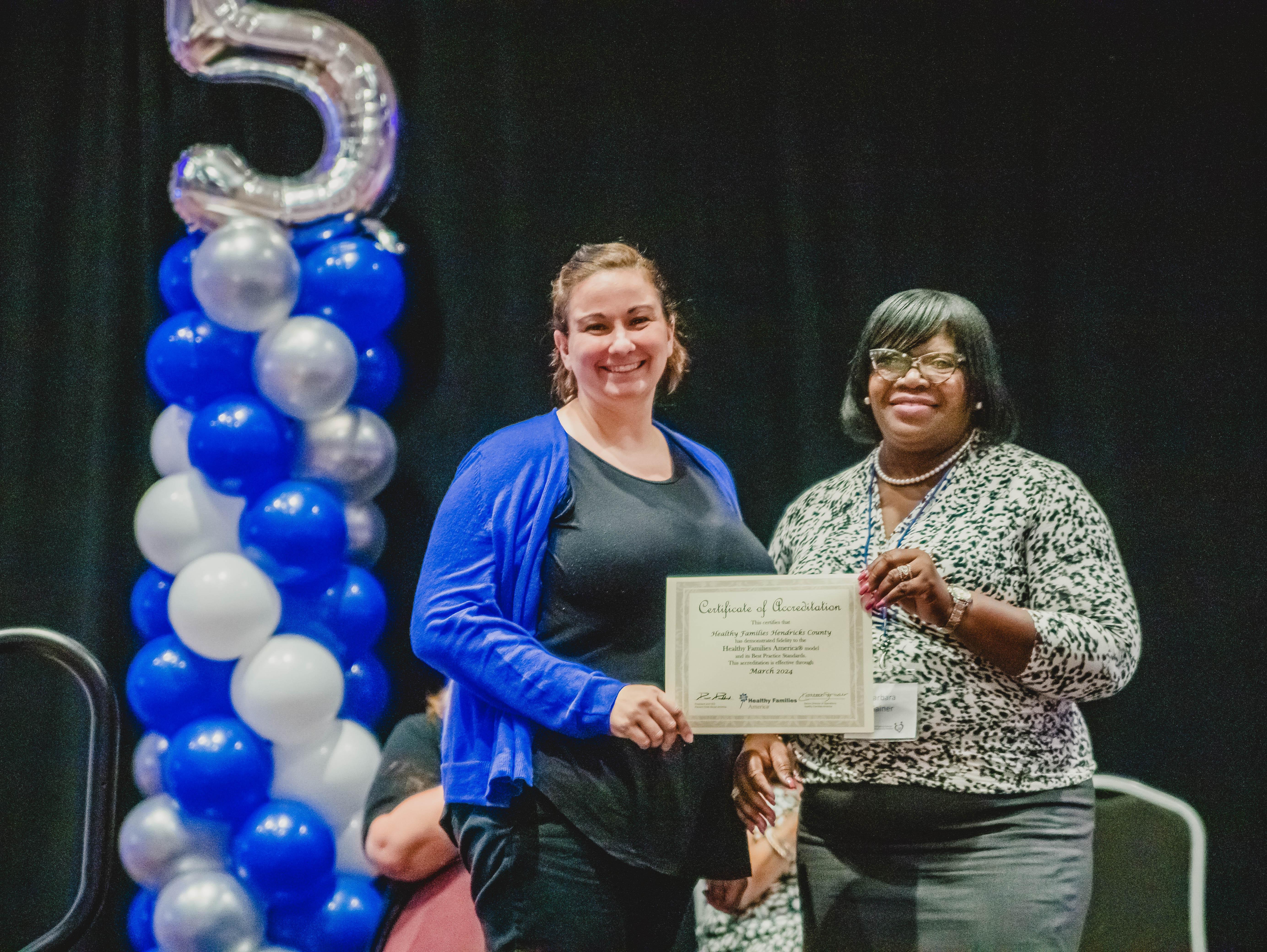HCCF Awards Grant for Training to Healthy Families Hendricks County