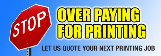 Stop Over Paying for Printing, Quote, Quoting