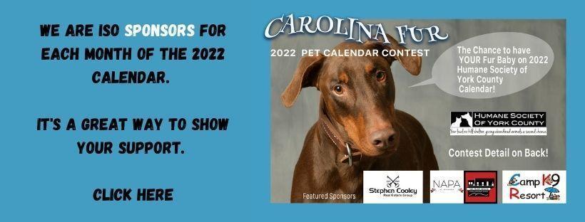 Carolina Fur Calendar