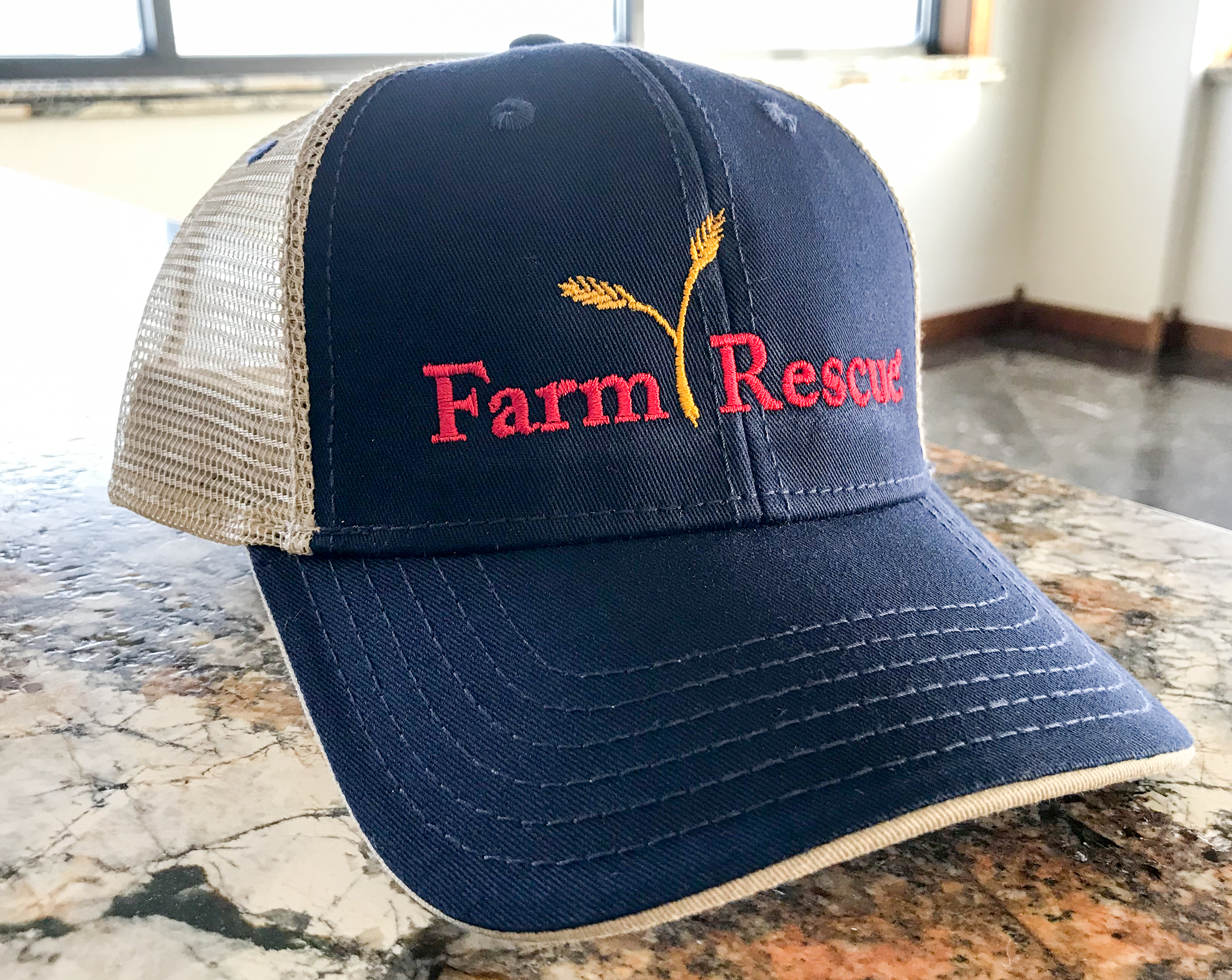 Farm Rescue Embroidered Cap