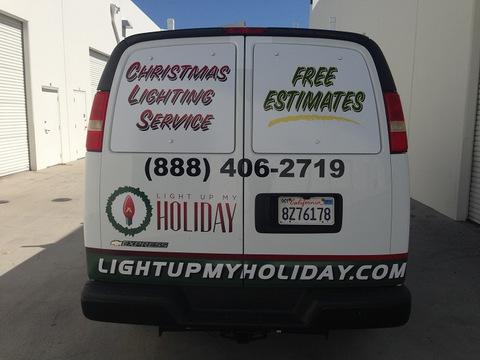 Inexpensive vehicle vinyl window perf Orange County