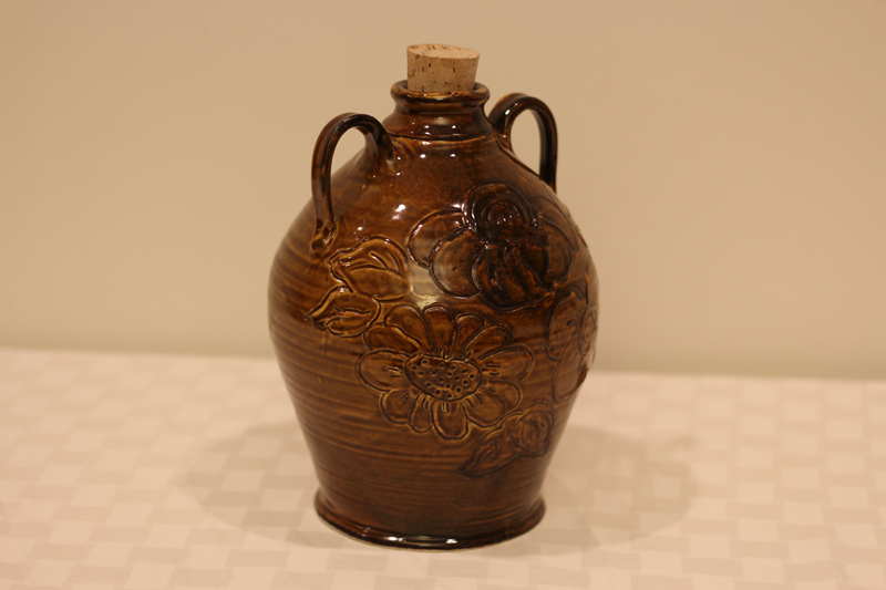 Bluebird Potter Jug - Donated by the artist, Maddy Fraioli