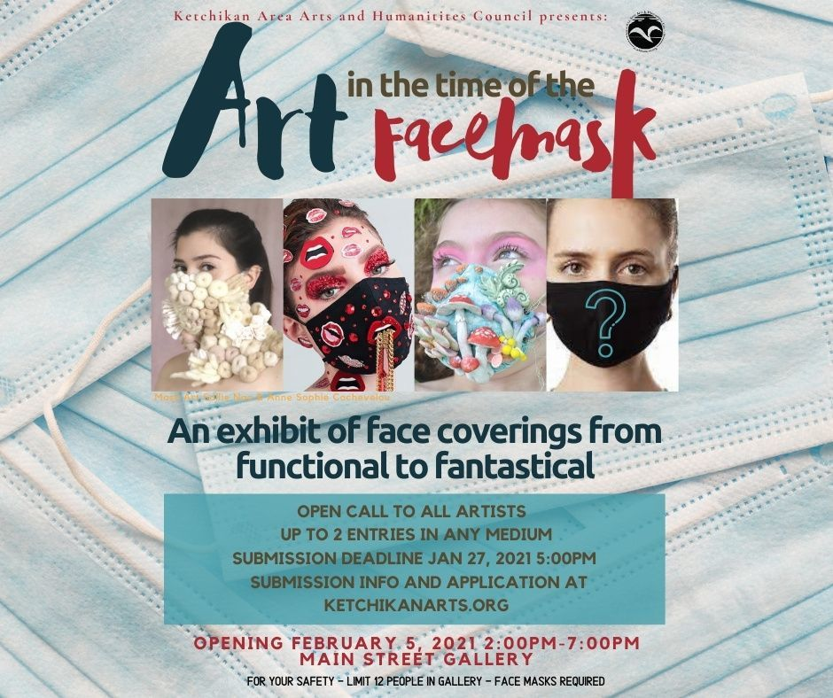 """Deadline for submissions to """"Art in the Time of the Face Mask"""""""