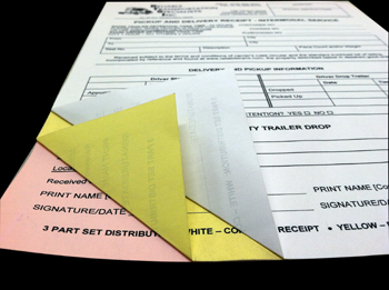 Multi-Part Carbonless Business Forms