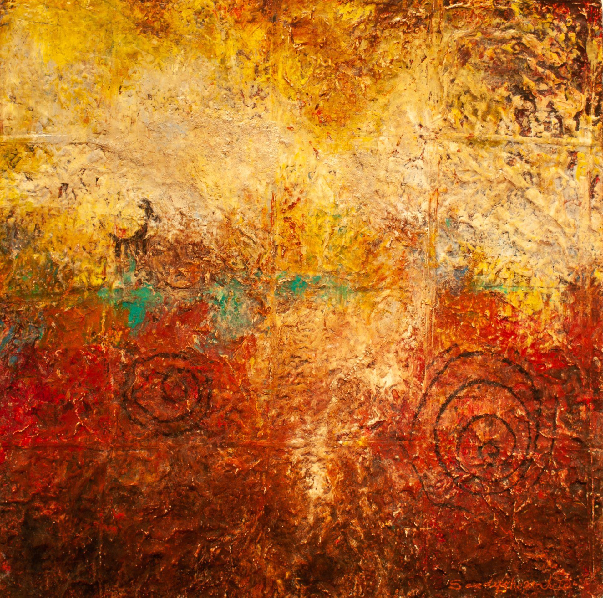"Sandy Shepard - ""Rock Petroglyphs"""