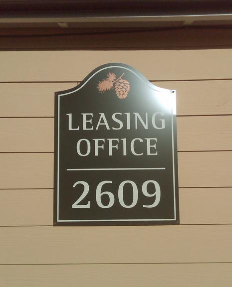 Arbor Glen Building I.D. Sign 1
