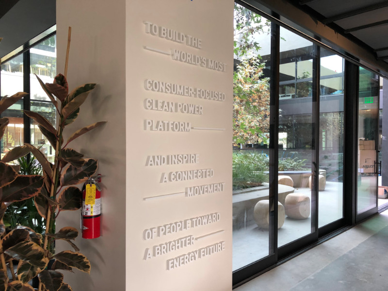 3D Lobby Lettering Los Angeles CA