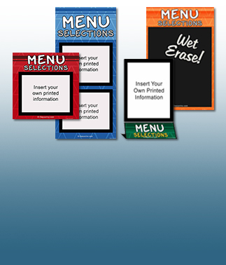 Primary Style Menu Boards