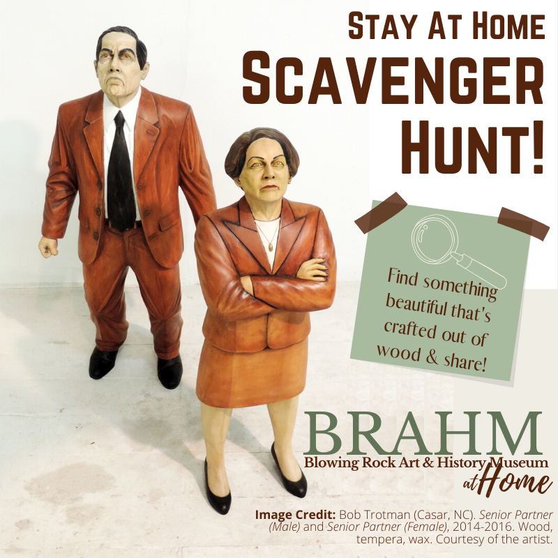Creative Spark: Stay at Home Scavenger Hunt