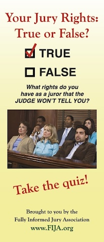 Your Jury Rights: True or False?