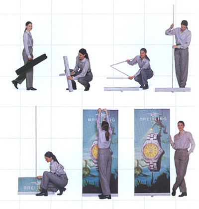 Banner Stands-Retractable