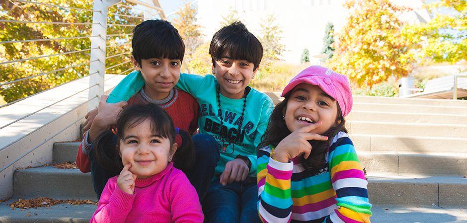 Refugee kids helped through Jewish Vocational Services