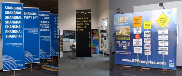 Tripod Banner Stands