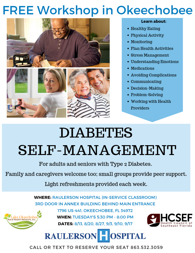 Type 2 Diabetes Workshop - Okeechobee