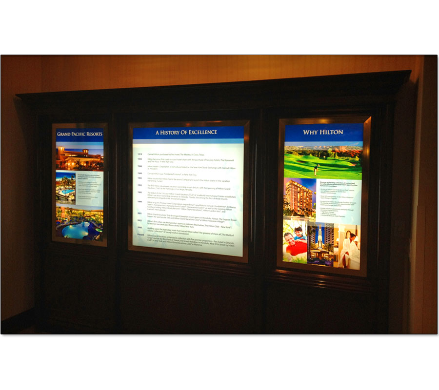 Backlit Displays