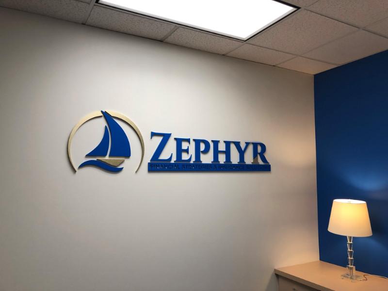 Acrylic Lobby Logo Sign