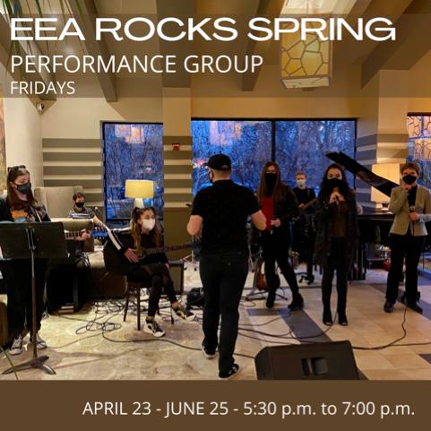 EEA Rocks Spring Performance Group