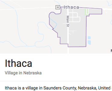 1 | Education & Hometown Ithaca, Nebraska