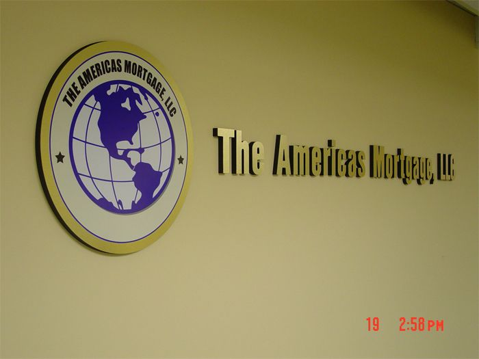 The Americas Storefront Sign