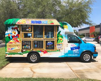 Shaved Ice Truck Wrap