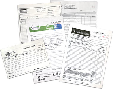 Print Business Forms  Calgary