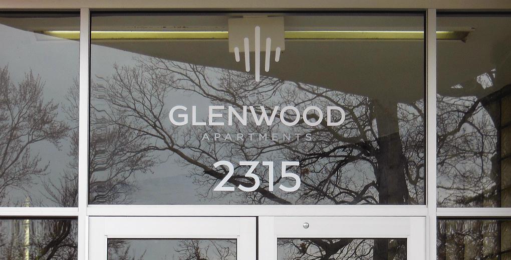 Vinyl Address Numbers