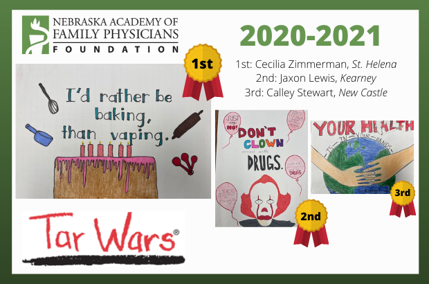 2020-2021 Tar Wars Contest Winners