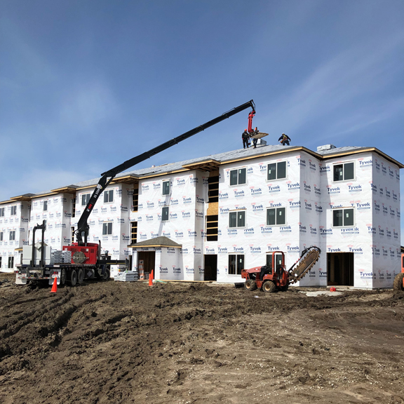 The Eastview Apartments [progress photos]