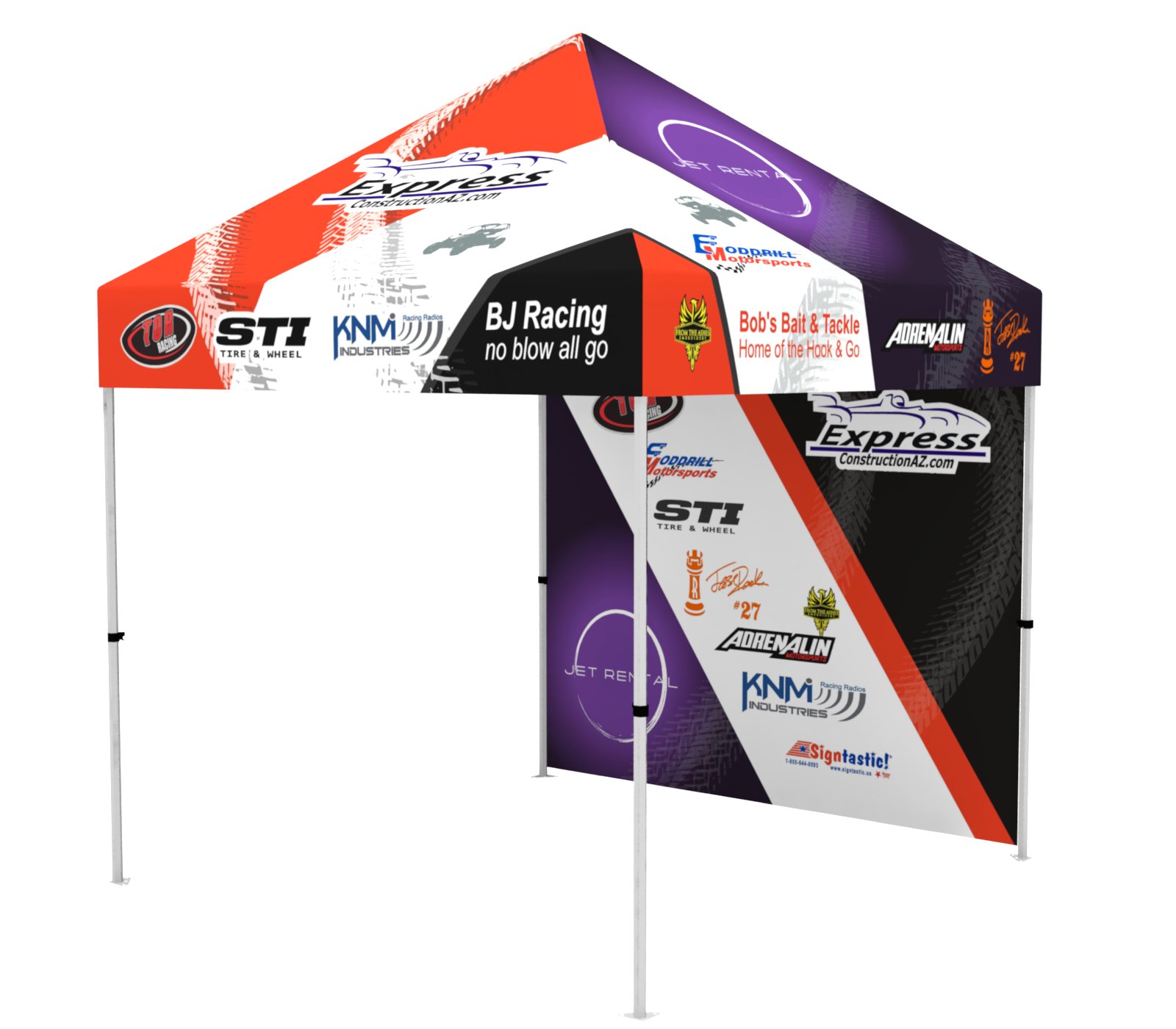 Canvas Tents/Canopy's Easy Pop-up's