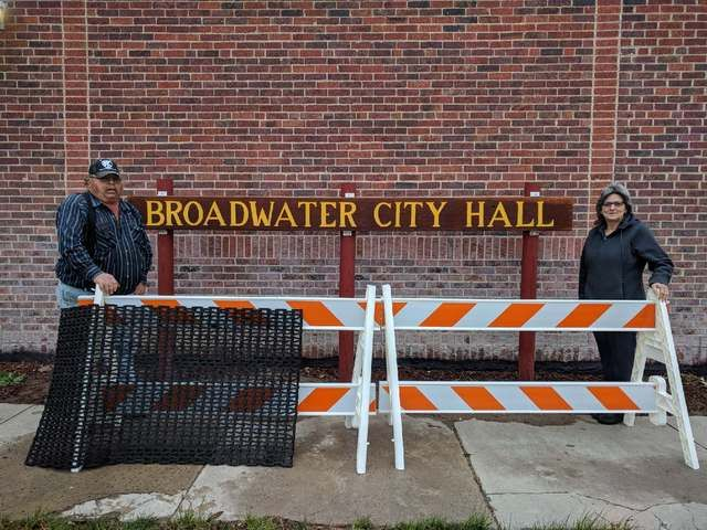 Congratulations to the Village of Broadwater!