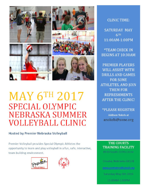 Premier Volleyball Summer Clinic