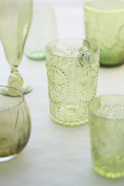 jadeite and depression-era glassware