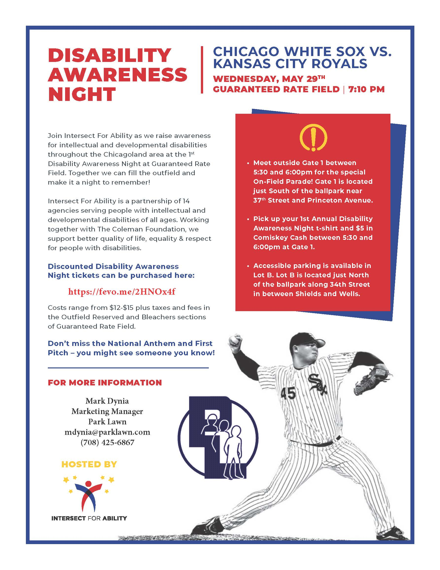 Developmental Disabilities Awareness Night with the White Sox
