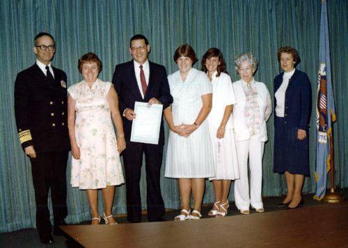 Lawrenece Huber NSA Award photo