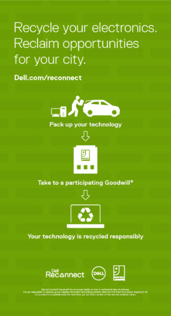 Recycle your electronics. Reclaim opportunities for your city.